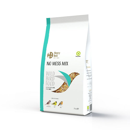 Henry Bell No Mess Seed Mix 2kg