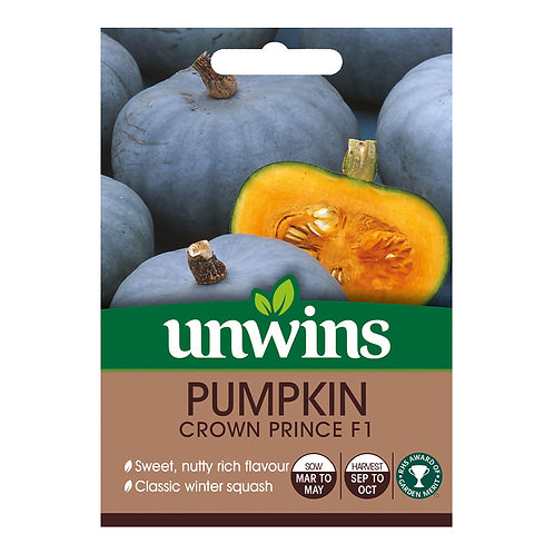 Unwins Pumpkin Crown Prince F1 - Approx 5 Seeds