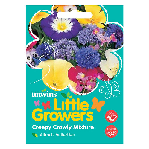 Unwins Little Growers Creepy Crawly Mixture - Approx 400 Seeds