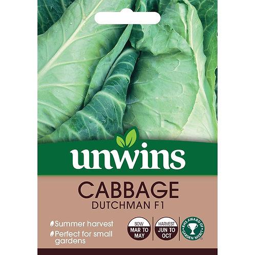 Cabbage Dutchman F1 (Unwins)