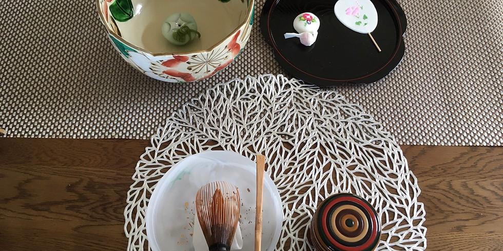 テーブル茶道(抹茶でおもてなし)オンライン講座