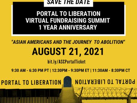 ASC's Portal to Liberation Virtual Fundraising Summit