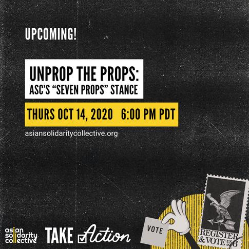 UnProp the Props: ASC's 7 Prop Stance
