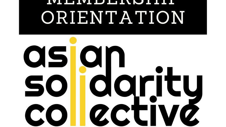 ENROLL & Attend ASC's Membership Orientation
