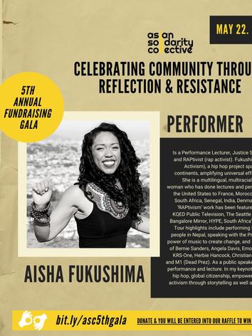 ASC 5th Gala feat Aisha Fukushima
