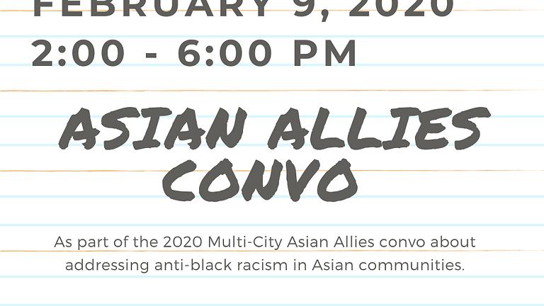 Asian Allies Convo