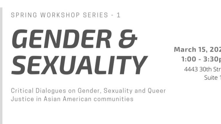 ASC's Spring Workshop Series 1: Gender & Sexuality