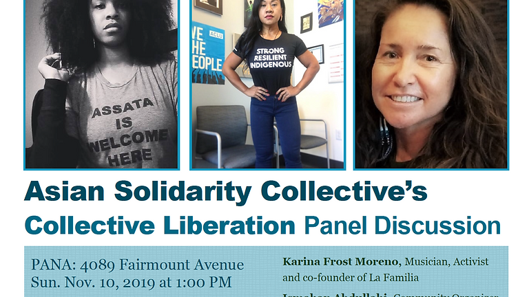 Collective Liberation Panel Discussion