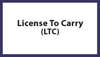 License to Carry (LTC), License to Carry (LTC) Houston TX