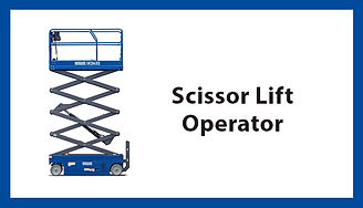 Scissor Lift Operator, Scissor Lift Operator Training