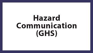 Hazard Communication (GHS), Hazard Communication (GHS) Houston TX