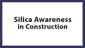 Silica Awareness in Construction, Silica Awareness in Construction Houston TX