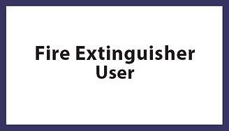 Fire Extinguisher User, Fire Extinguisher User Houston TX