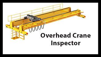 Overhead Crane Inspector, Overhead Crane Inspector Training