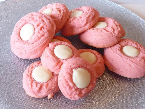 Cherry White Chocolate Cookies