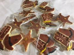 Western Decorated Sugar Cookies