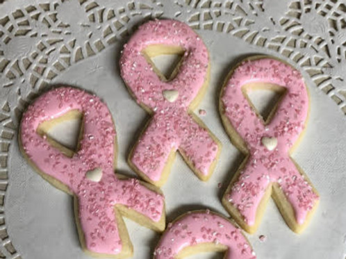 Run for the Cure Cookie