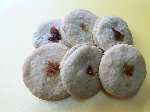 Date Filled Sandwich Cookies