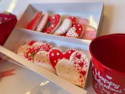Valentines Cookie Gift Box