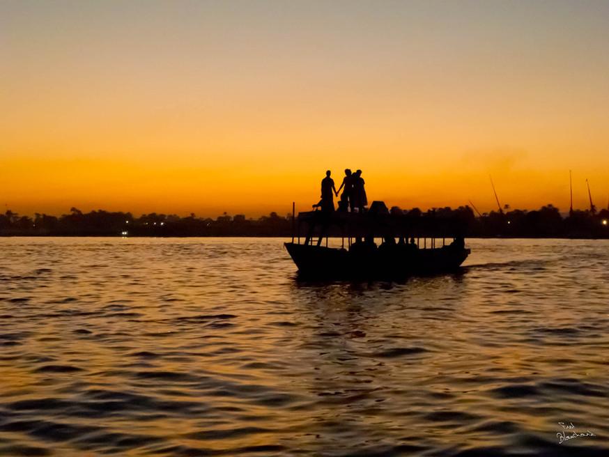 Le nil, Égypte, 2012