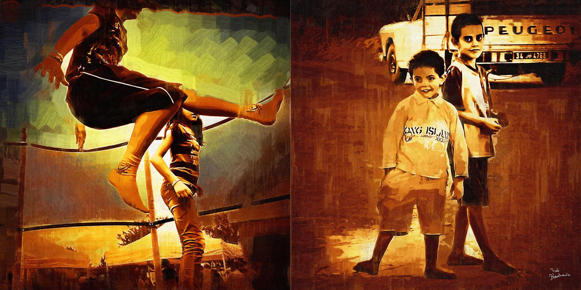 enfants riches vs enfants pauvres