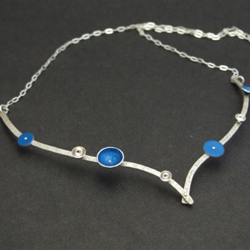 Sterling Silver + Aluminium Necklace