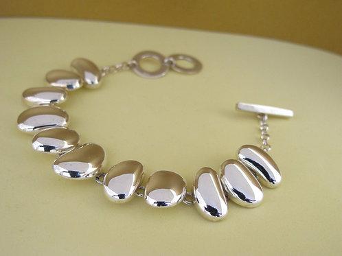 Chris Lewis solid silver bracelet