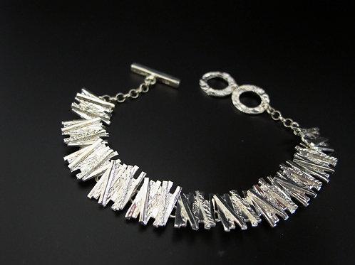 Chris Lewis Silver Bracelet
