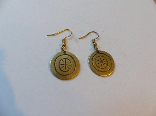 Metalen oorbellen 5