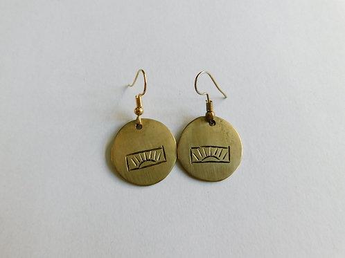 Metalen oorbellen 2