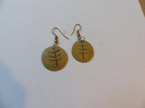 Metalen oorbellen 6