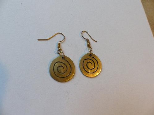 Metalen oorbellen 8