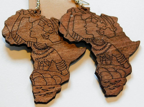 Houten Afrika's