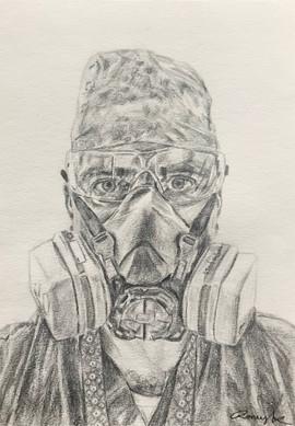 Commissioned NHS portrait