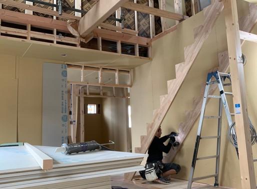階段取り付け工事♪