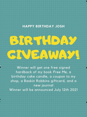 July Birthday Giveaway