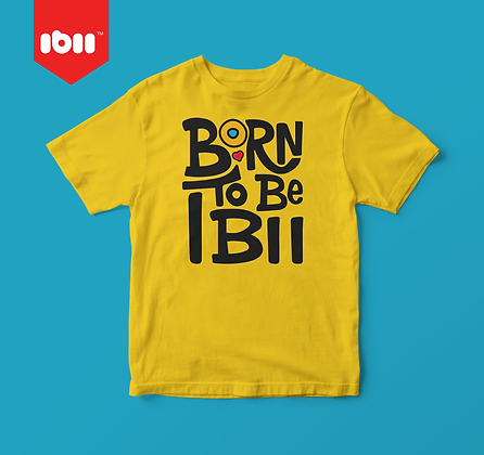 Youth Born to be ibii™ T-shirt - Combo Pack