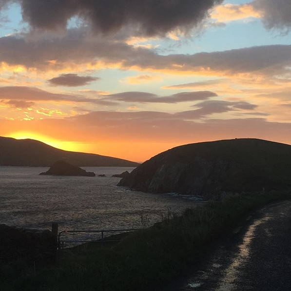 Sunset From Slea Head