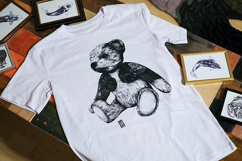 TEDDY BEAR [熊]T-Shirt white