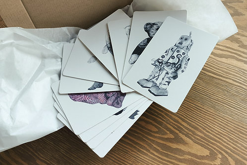 10 x Postcard set [10cm x15cm 308g]
