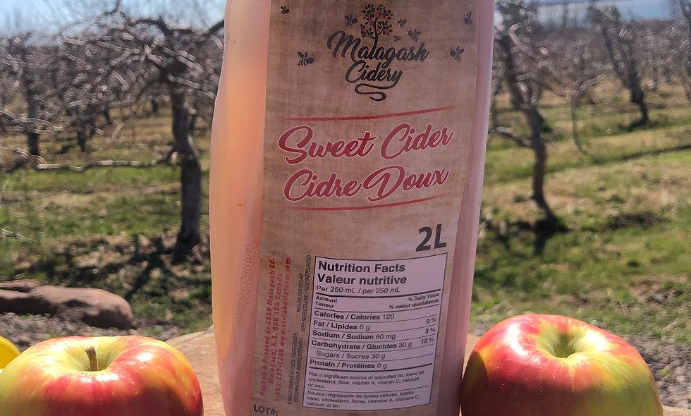 Unfiltered Apple Juice 0% ABV