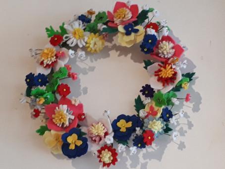 手作り花束