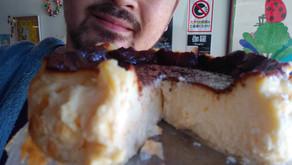 夏のバスク風チーズケーキ