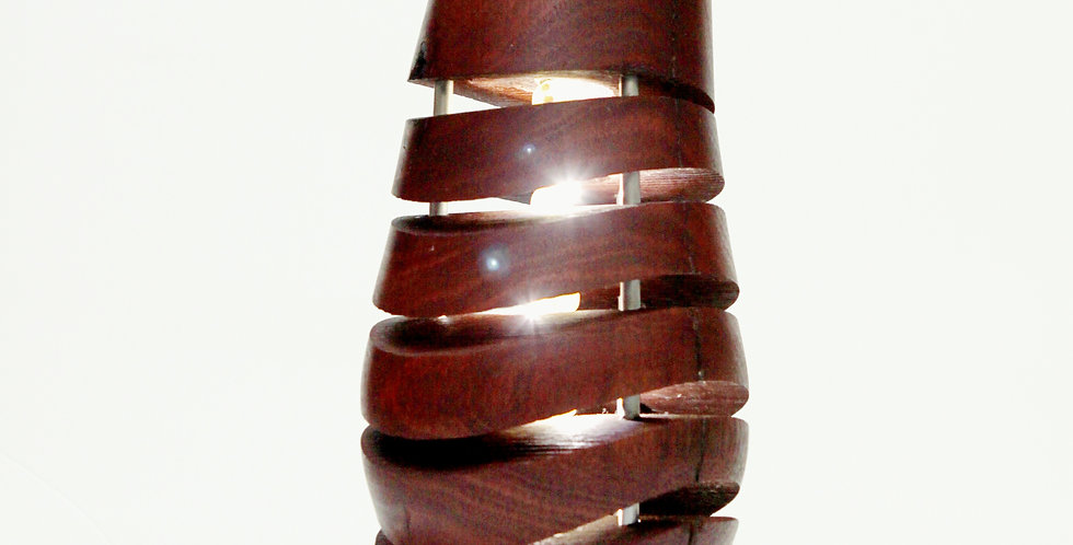 Turned Timber Lamps