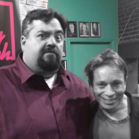 with Chris Kattan