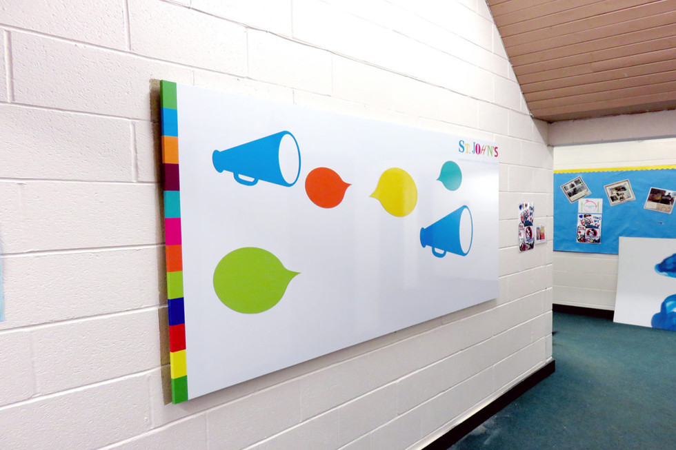 Printed Whiteboard