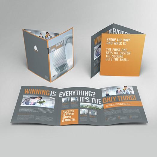 6-Page Folded Leaflet
