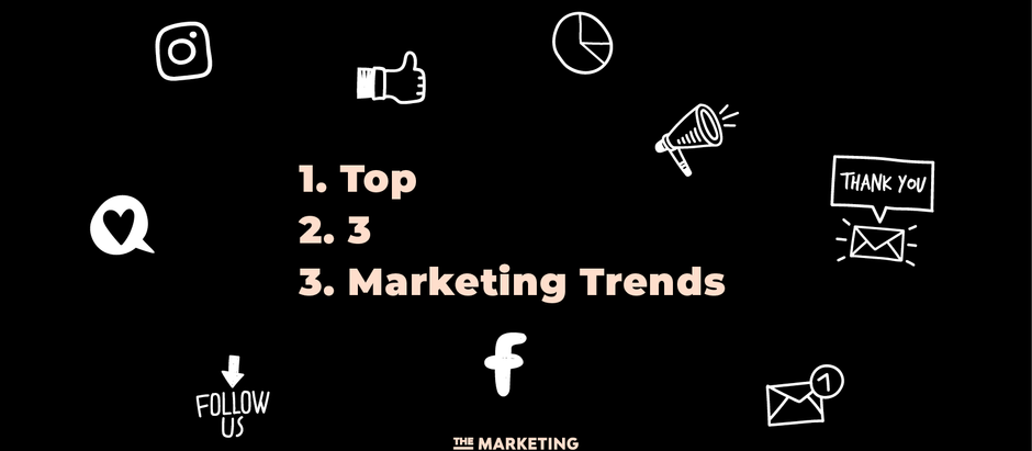 Top 3 Current Marketing Trends