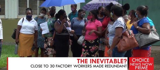 CLOSE TO 30 FACTORY WORKERS MADE REDUNDANT