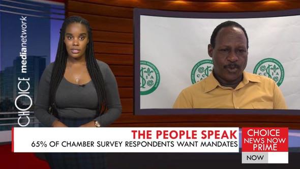 65% OF CHAMBER SURVEY RESPONDENTS WANT MANDATES